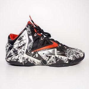 "60ba9c59504a Nike Shoes - Nike Lebron 11 ""Graffiti"""